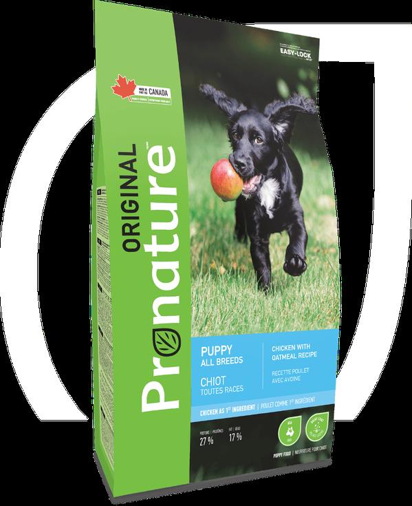 Pronature Canada Puppy Chicken With Oatmeal Recipe